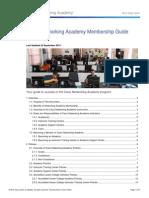 Cisco Networking Academy Membership Guide