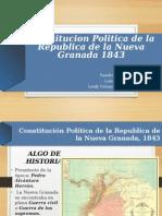 Constitucion Politica 1843