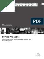 manual cx2310