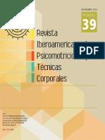 revista iberoamericana de psicomotricidad y técnicas corporales N°39