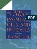 375 Essential Oils and Hyrosols