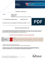 2015 Software Pricelist IQFreePos