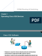Chapter 1 - Operating Cisco IOS Devices