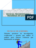 TECNICAS DE AUDITORIA I.ppt