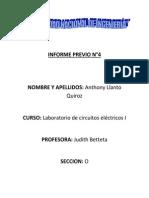 laboratorio de circuitos electricos N°4   osiloscopio