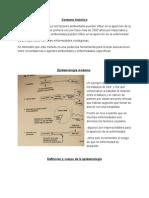 Contexto Histórico de la epidemiologia