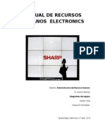 Manual de Recursos Humanos Electronics