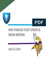 Vikings Stadium Ticket Plans