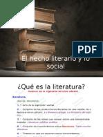 La literatura como fenómeno social