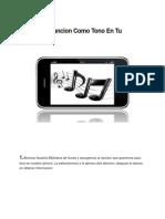 Poner Canciones Como Tonos de Llamada en Un iPhone