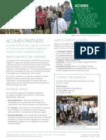 Acumen Partner Pack