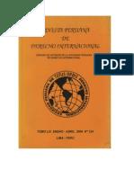 Revista Peruana de Derecho Internacional N° 124 - 2004