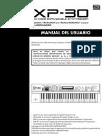 Manual Roland Xp-30