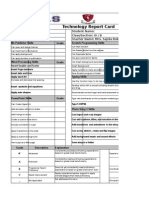 Final Term Report Grade 3-8