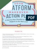 Platform University - Your Platform Makeover Action Plan