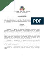 Reglamento de la Asamblea Nacional