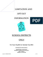 optout 2013 pay 2014 school only