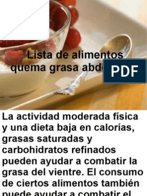 Dieta controlada en grasas pdf