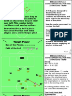 6 - Phase of Play - Combination Play in the Attacking Third