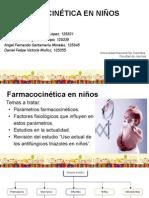 Farmacocinética en Niños