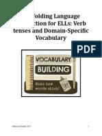 Scaffolding Language Instruction for ELLs Handouts