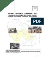 Sistema de Alerta Temprana - Siat en La Cuenca Del Río Piura - Perú