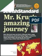 Jewish Standard, April 27,, 2015