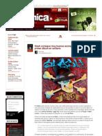 Www.hipersonica.com Rock Slash Consigue Muy Buenos antes Para Su Primer Album en Solitario