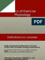 Exercise Physiology Elective I
