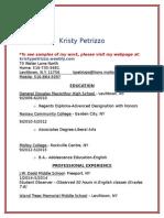 kpetrizzo resume