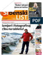 Sibenski list, 23. travnja 2015.