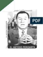 El Metodo Peronista - Natalio Luis Jovanovich