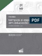 Fernando de Azevedo - Tempos e Espaços Em Educação - 2014