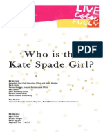 Kate Spade New York Brand Audit