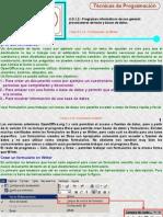 Realizar Formularios en Writer LibreOffice