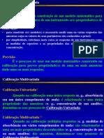 Calibração Multivariada (Métodos Diretos Ou Clássicos-modificado 2005)