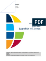 TVET database Republic of Korea ( Data mengenai perkembangan vokasi di Korea )