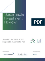 2014 Asia Sustainable Investment Review1