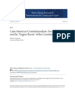 Roberto Gargarela - paper - Social Rights and the -Engine Room- Of the Constitution