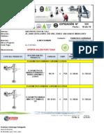 Cotización - GYD PROYECTOS -  FLUXOMETROS URINARIO.xlsx