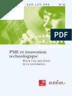 Regards PME 10 Innovation