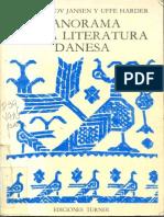 Panorama de La Literatura Danesa p. 9-35