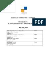 MEP- GEO-PR002 PILOTAJE DE CIMENTACI+ôN - ENTUBACI+ôN RECUPERABLE 06 11  13 - CUSCO