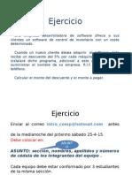 Ejercicio Empresa Software Secuencial Propuesto