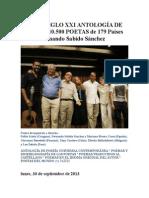 Poetas Siglo Xxi Antología de Poesía
