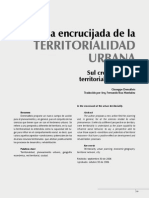 En La Encrucijada de La Territorialidad Urbana - DeMATTEIS, GIUSEPPE - 2004