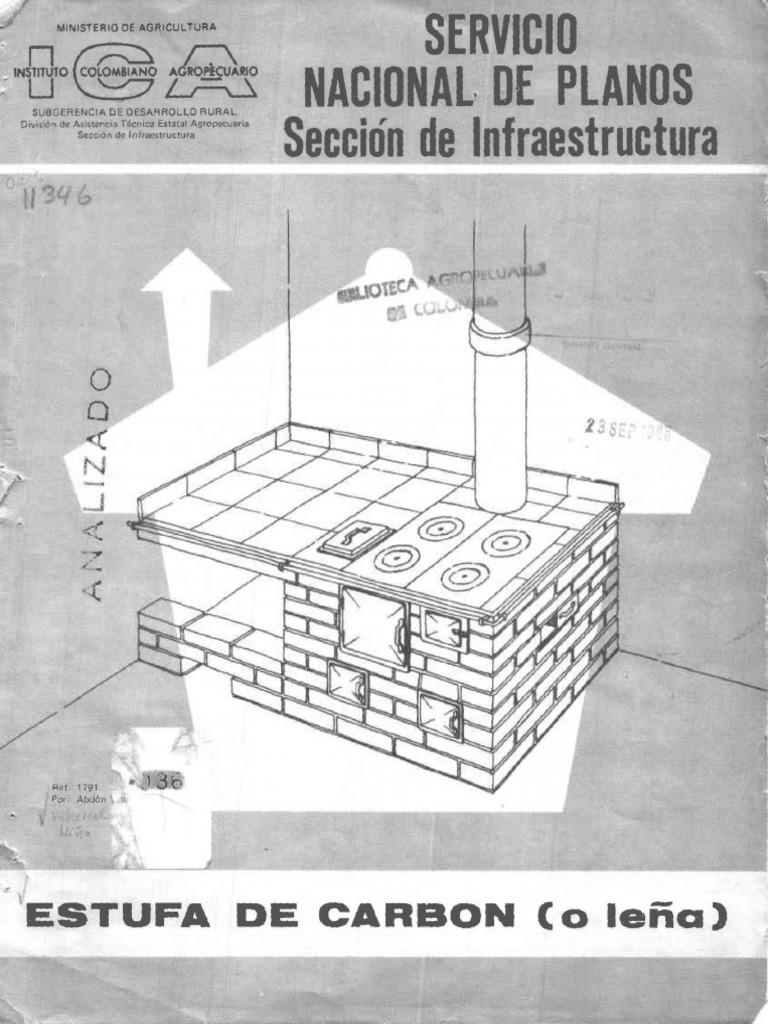 Planos estufa de le a ecologica for Planos de cocinas mejoradas a lena