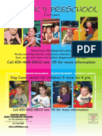Suffolk Y JCC Preschool Card