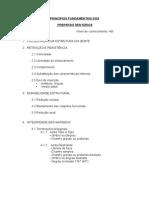 Roteiro de Princípios Fundamentais Dos Preparos Dentários