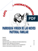Charla Pre Matrimonial Parroqui Virgende Lasnieves